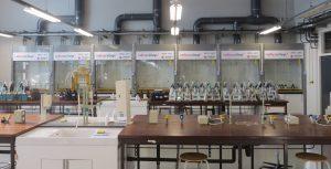 veilig en zuinig laboratorium